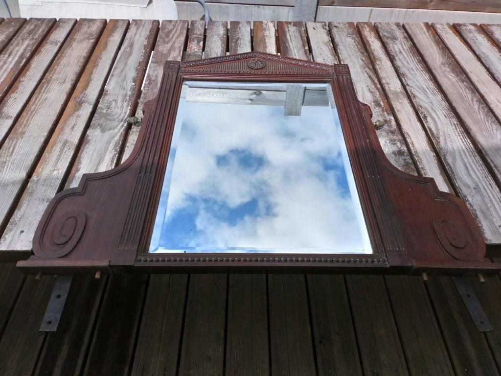 Miroir avant relooking